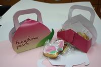 桃のスイーツパッケージ
