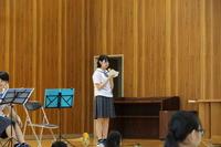 吹奏楽部の演奏①