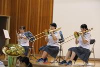 吹奏楽部の演奏②