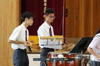 吹奏楽部の演奏③