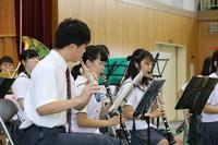 吹奏楽部の演奏④